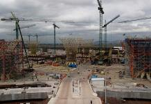 Extrabajadores exigen pago por obras para el Aeropuerto de Texcoco