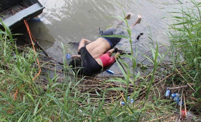 El Salvador repatriará cuerpos de padre e hija ahogados en río Bravo