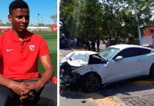 Copiloto de Joao Maleck en accidente, también es futbolista