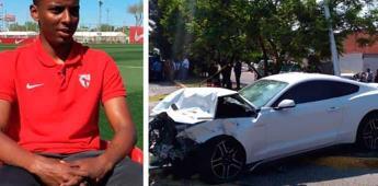 Otorgan perdón legal a Maleck, futbolista que mató a pareja en choque
