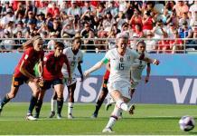 Estados Unidos vence a España en Mundial Fem.