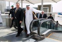 Mike Pompeo se reúne con rey y príncipe saudí