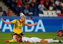 Suecia vence a Canadá en los octavos de la Copa del Mundo