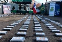 Decomisa Chile cocaína con valor de más de 13 mdd