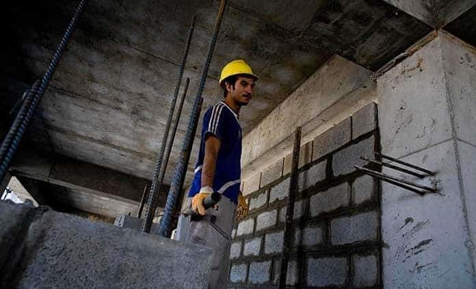 Paralizada, industria de la construcción