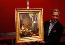 En venta, pintura perdida de Delacroix