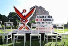 Presentan playera y medalla del Maratón Internacional de la Ciudad de México