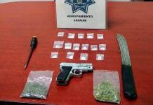 """Policía Municipal captura a un presunto """"narco"""""""