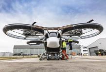 Taxis voladores sobre París para los Juegos Olímpicos de 2024