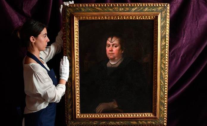 La obra La Amante del Vaticano de Velázquez se vende por 3 millones de dólares