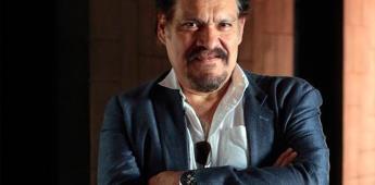 Indignante falta de pago a artistas, opina Joaquín Cosío