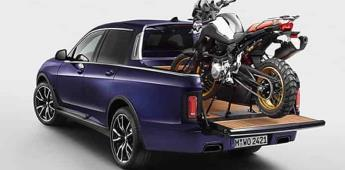BMW, ¿un guiño al mundo pick-up?