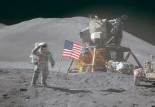 La superficie de la Luna: objetivo de doce astronautas