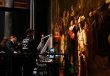 """Comienza examinación de """"La ronda nocturna"""" de Rembrandt"""