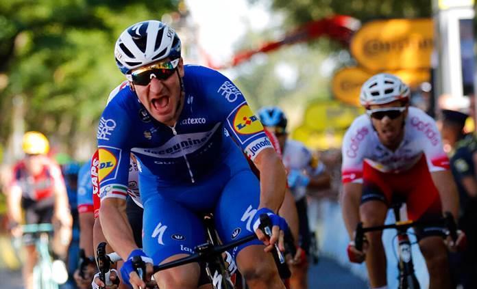 El italiano Viviani gana la cuarta etapa del Tour de Francia
