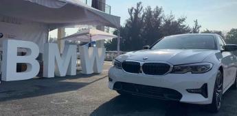Vehículo ensamblado en SLP, presente en las celebraciones por los 25 años de BMW en México