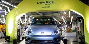 Volkswagen se despide de la producción de su emblemático Beetle en México