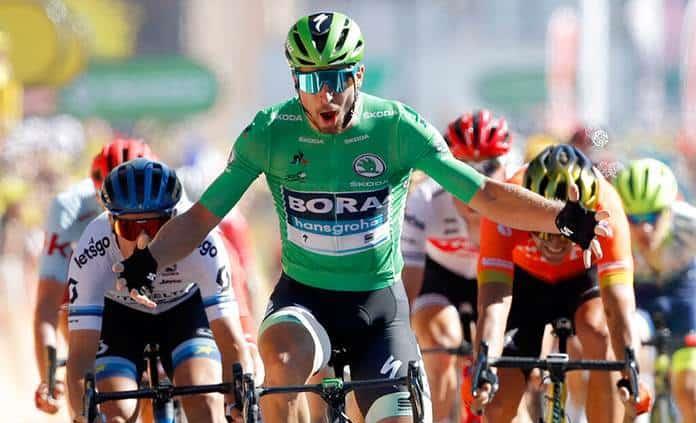Sagan gana la etapa y Alaphilippe sigue de líder en el Tour de Francia
