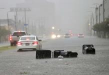 Tormenta inunda las calles de Nueva Orleans