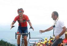 Teuns se impone en la primera etapa montañosa; Ciccone, nuevo líder del Tour de Francia