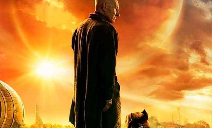 "Liberan primer póster de ""Star Trek: Picard"", con Patrick Stewart"