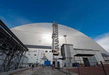 "Inauguran arco protector ""Ukritiye"" en Chernóbil"