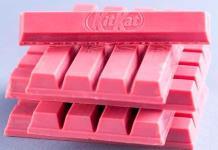 Llegó a México el primer chocolate rosa