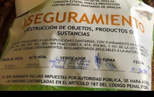 Clausuran productora de queso tras intoxicación en Sinaloa
