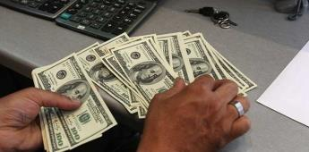 Dólar se vende en 19.79 pesos en bancos