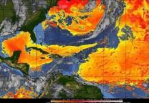 Tranquilidad ciclónica en el Atlántico, por presencia de polvo del Sahara