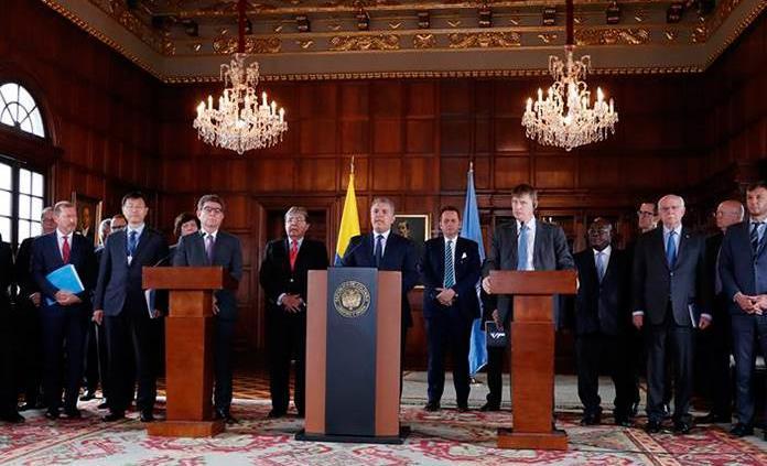 Colombia pide a ONU prolongar un año misión de verificación de paz