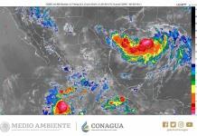 Pronostica Conagua lluvias hoy en SLP