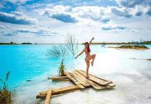 Lago tóxico en Siberia, sensación en Instagram