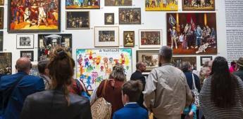 Artistas de 95 países se inspiran en Rembrandt y le soplan las velas