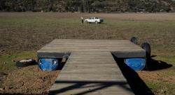 La laguna seca de Aculeo muestra las heridas de la crisis climática en Chile