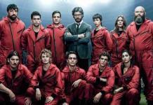 La casa de papel se mueve entre la tercera y cuarta temporada