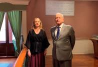 VIDEO: AMLO y Gutiérrez Müller muestran habitación donde vivió y murió Juárez en su aniversario luctuoso