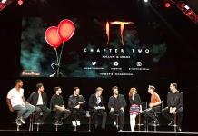 "Elenco de ""It 2"" habla de su intenso rodaje en la Comic-Con"