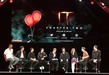 """Elenco de """"It 2"""" habla de su intenso rodaje en la Comic-Con y presentan tráiler"""
