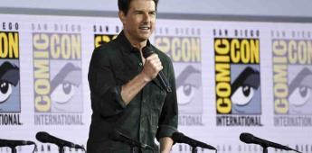 Tom Cruise sorprende en la Comic Con para presentar avance de Top Gun