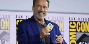 "Schwarzenegger presenta ""Terminator"" en la Comic-Con"
