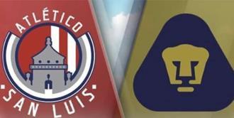 Por ESPN 2, Juego Atlético de San Luis vs Pumas