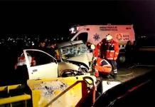 Muere al chocar su automóvil en el Distribuidor Juárez