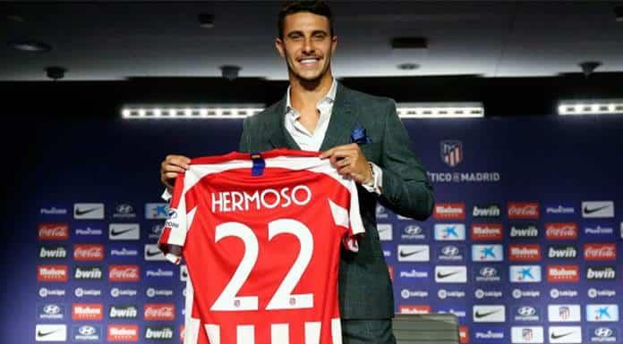 Defensa Mario Hermoso refuerza a Atlético de Madrid'>