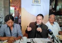Se disculpa PRD con los potosinos por abrir la puerta a corruptos