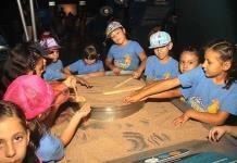 Niños exploran y aprenden en el verano