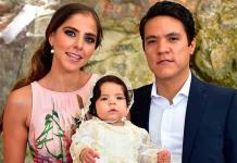 María Andrea Delgado Torrescano recibe el bautismo
