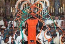 Limpian murales de Diego Rivera
