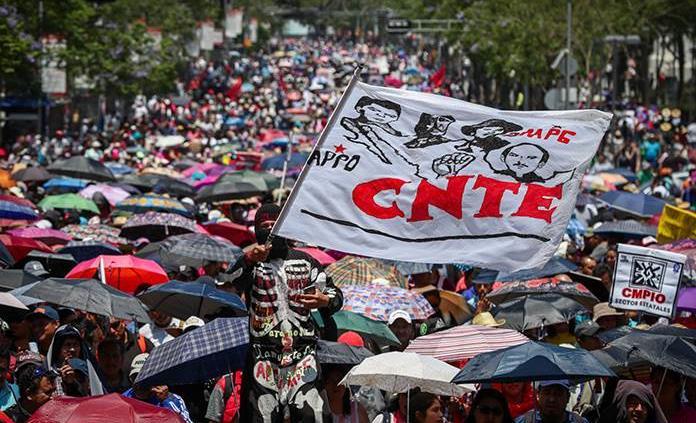 A dos semanas del regreso a clases, CNTE amaga con paro en Chiapas