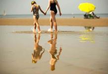 Ir bien vestido más allá de la playa, una nueva etiqueta en la costa belga